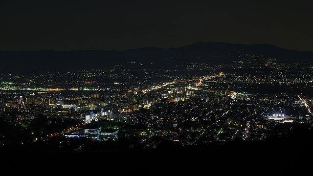 若草山からの夜景