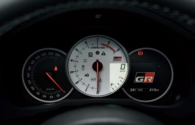トヨタ 86 GR 専用メーター