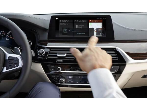 BMW 5シリーズ 2016 ジェスチャーコントロール