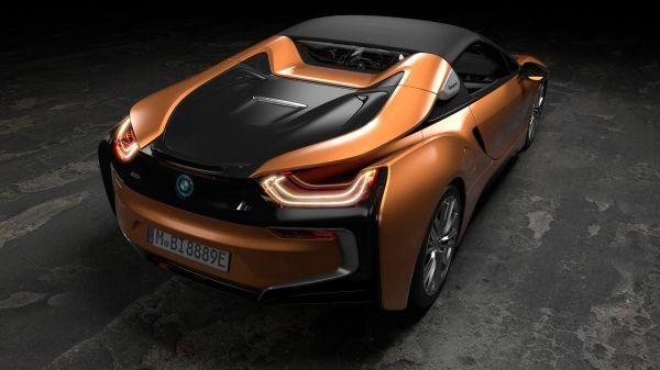 BMW 新型i8ロードスター