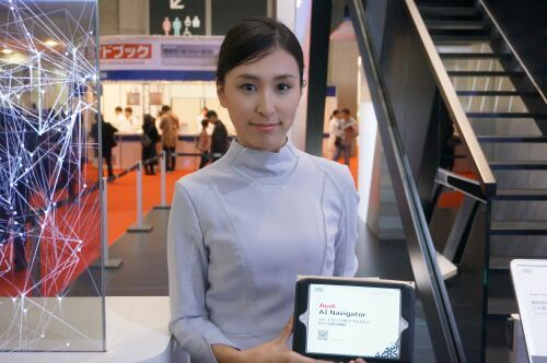アウディ 東京モーターショー2017 コンパニオン