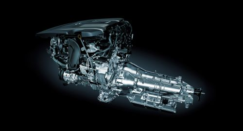 レクサス 新型 LS 3.5L V型6気筒ツインターボエンジン 2017