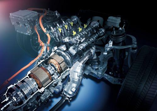 レクサス新型LS 500h マルチステージ ハイブリッドシステム 2017