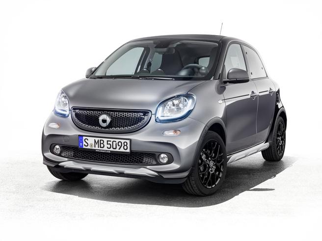 スマート smart forfour turbo crosstown limited