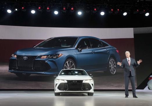 トヨタ 新型アバロン デトロイトモーターショー