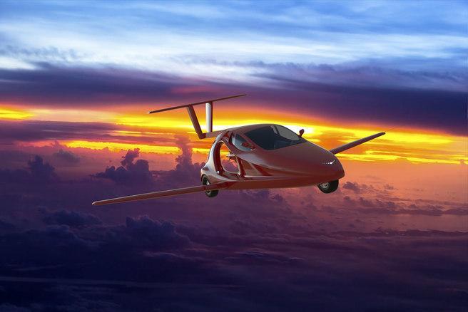 空飛ぶ車 The Switchblade