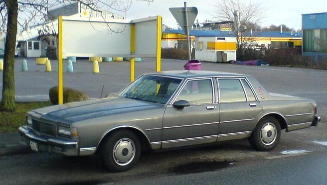 シボレー_カプリス-1986