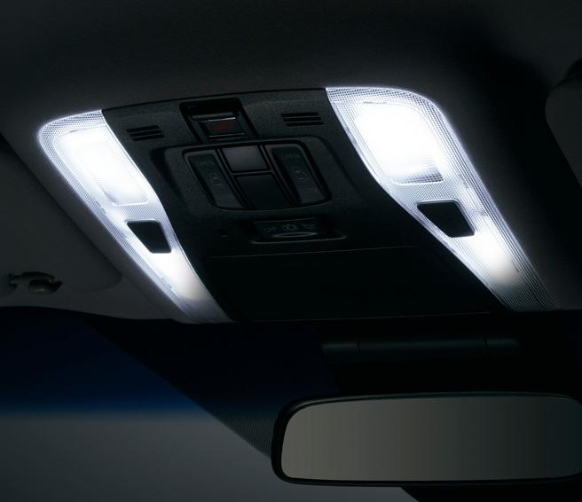 新型 ヴェルファイア モデリスタ LEDルームランプセット(ホワイト/面発光タイプ)