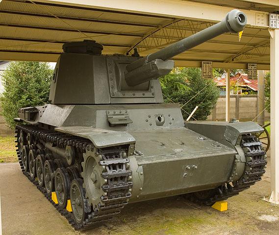 戦車 三式中戦車(チヌ)