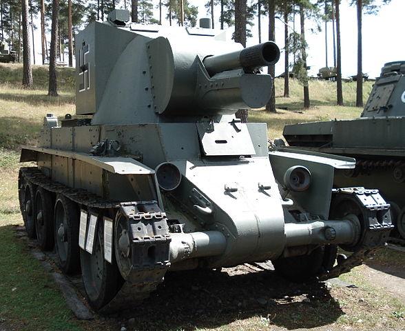 戦車 BT-42突撃砲