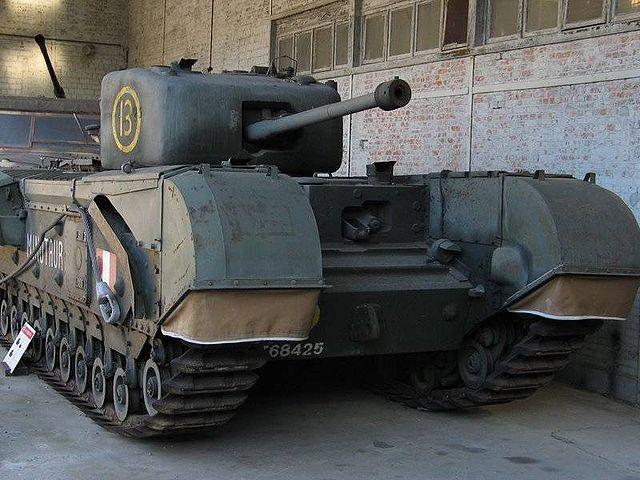 戦車 チャーチル歩兵戦車 Mk.VII