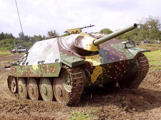 戦車 38式軽駆逐戦車ヘッツァー
