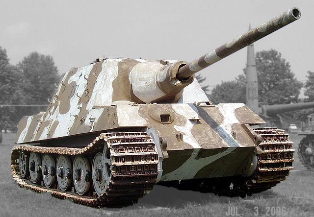 戦車 駆逐戦車ヤークトティーガー