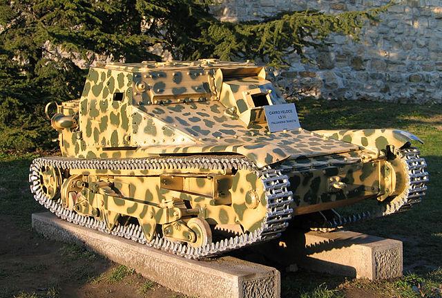 CV33型快速戦車(L3/35)