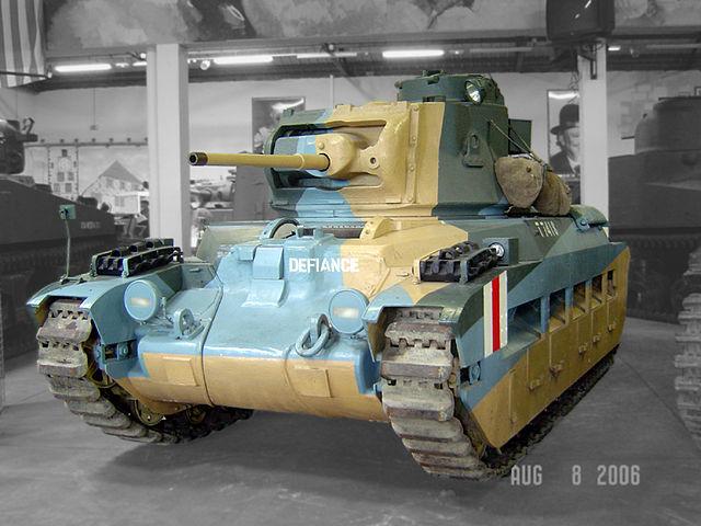 戦車 マチルダII 歩兵戦車 Mk.III/IV