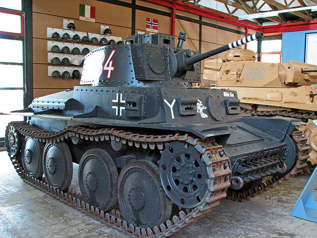 戦車 38(t)戦車