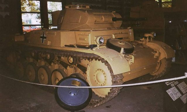 戦車 Ⅱ号戦車F型