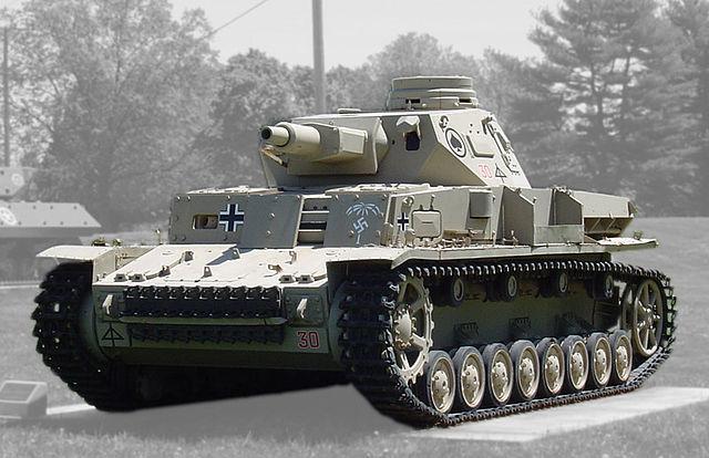 戦車 Ⅳ号戦車D型