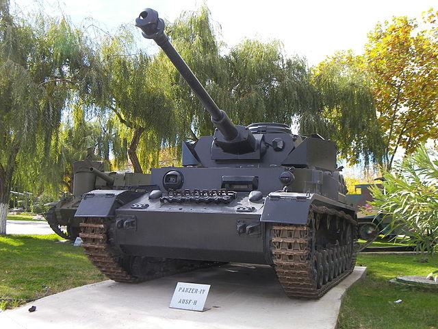 戦車 Ⅳ号戦車H型