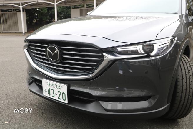 マツダ新型CX-8試乗会 フロントデザイン