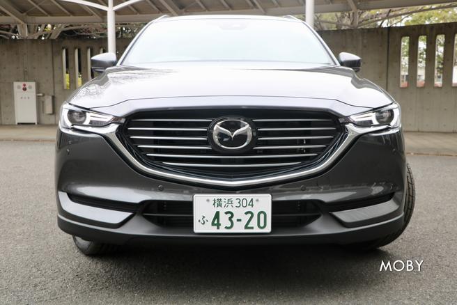 マツダ新型CX-8 試乗会 フロントグリル