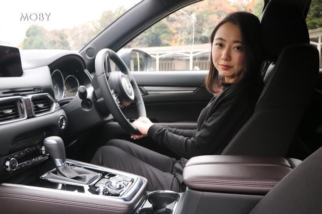 マツダ新型CX-8試乗会 運転席
