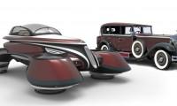 ラッザリーニデザインが空飛ぶ車「ホバークーペ」発表