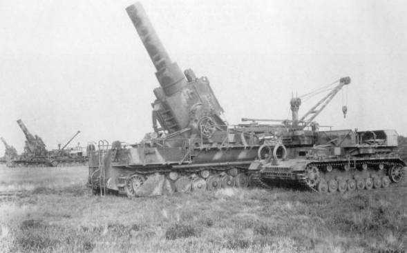 戦車 カール自走臼砲
