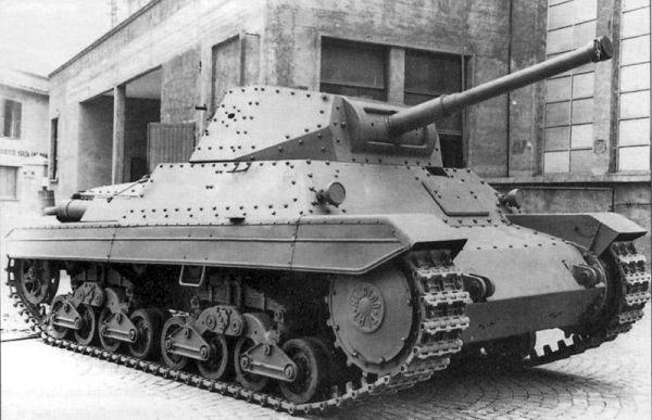 戦車 P40型重戦車