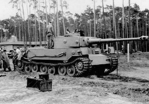 戦車 ポルシェティーガー