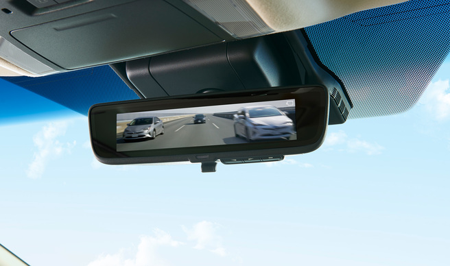 トヨタ 新型アルファード 2017 デジタルインナーミラー