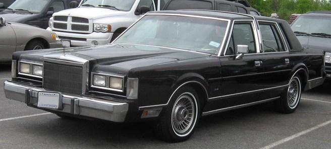 リンカーン_タウンカー-1988