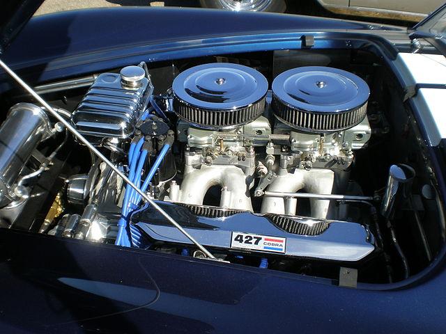 ACコブラ 427 エンジン