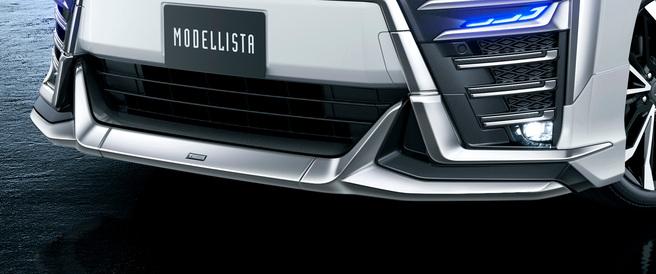 新型 ヴェルファイア エアロボディ モデリスタ フロントスポイラー