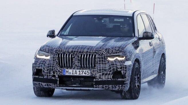 BMW 新型X5 スパイショット