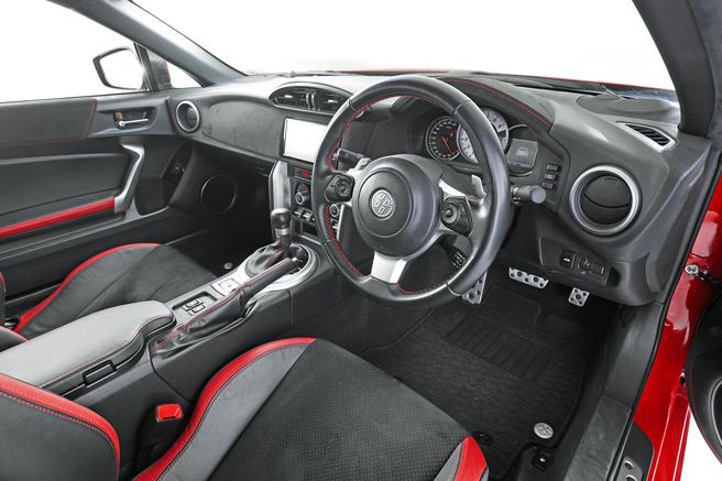 トヨタ 86 GT Limited 内装 インテリア MOBYクルマバナシ