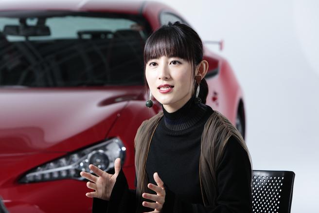 福田彩乃 トヨタ 86 MOBYクルマバナシ