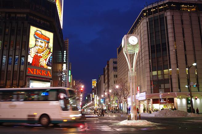 北海道 繁華街 すすきの