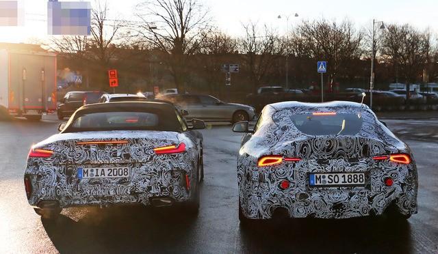 BMW Z4 & トヨタ スープラ