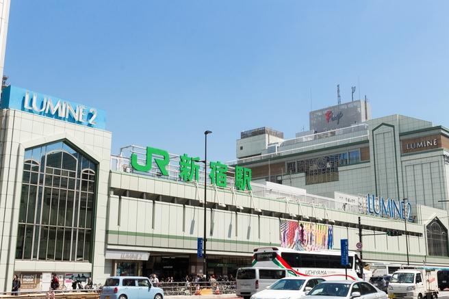 東京都 新宿 新宿駅