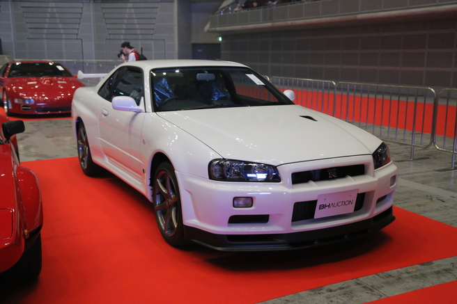 """東京オートサロン 2002 Nissan Skyline GT-R V-spec II """"Nür"""""""