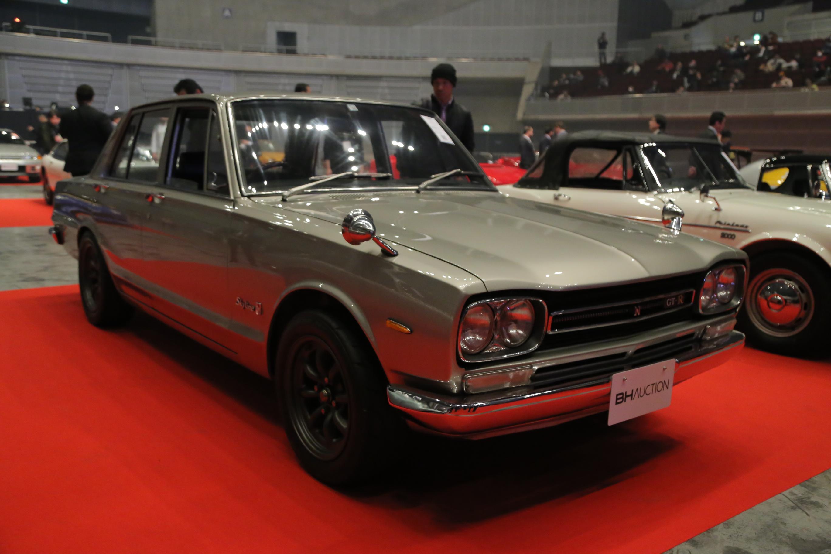 東京オートサロン オークション 1969 Nissan Skyline GT-R(PGC10)