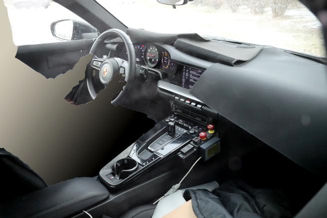 ポルシェ 911スパイショット