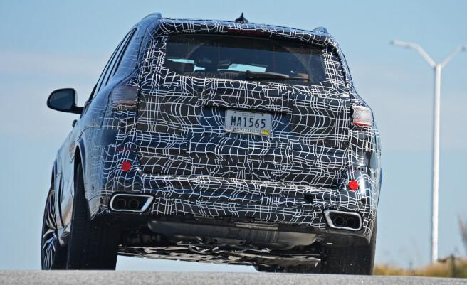 BMW X5 スパイショット