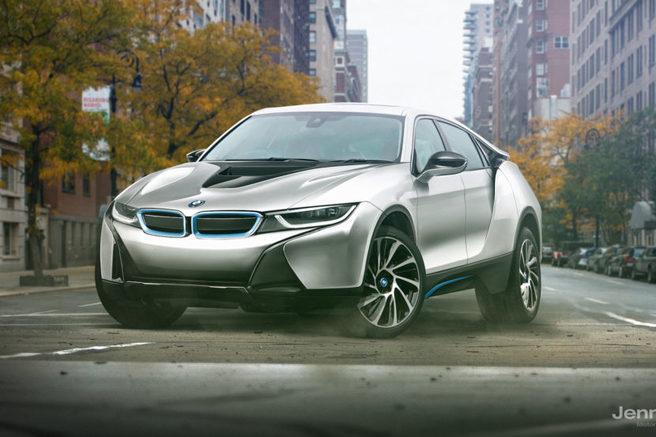 BMW i8 予想レンダリングCG