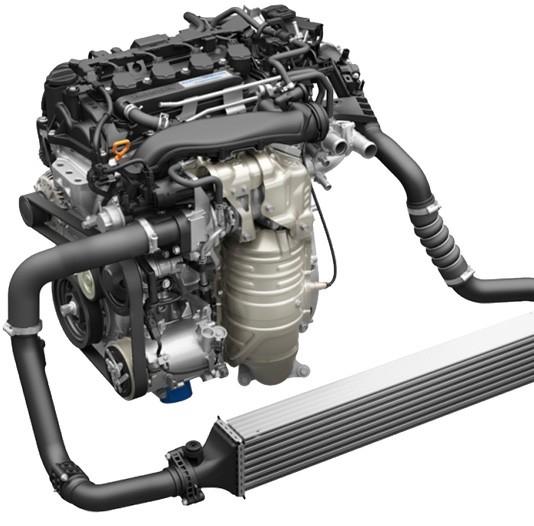ホンダ シビックセダン 1.5L VTECターボエンジン