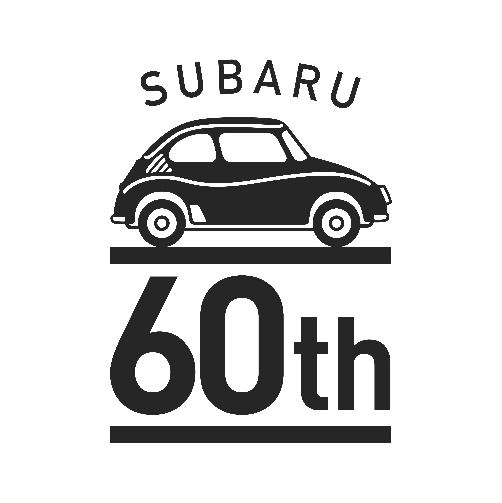 スバル360誕生60周年ロゴ