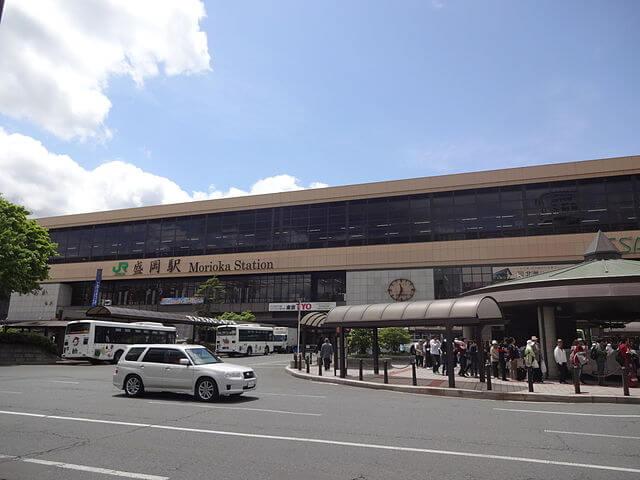盛岡駅東口