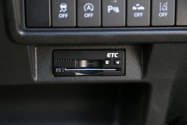 スズキ新型クロスビー ETC車載器