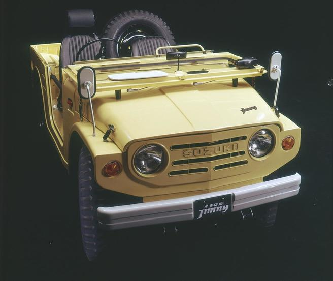 初代ジムニー(LJ10型)1970年型